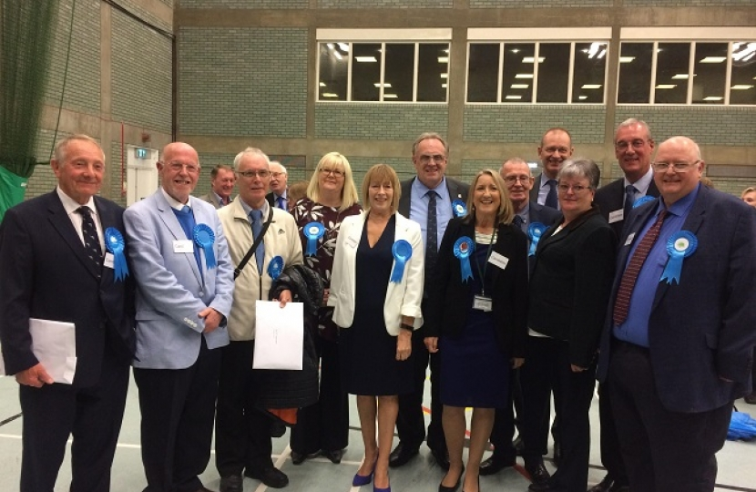 The new and returning councillors of Rochford District Council